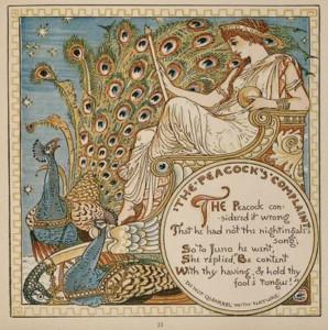 The Peacock's Complaint Walter Crane