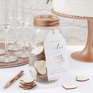 BB  Wishing Jar Guest Book scaled