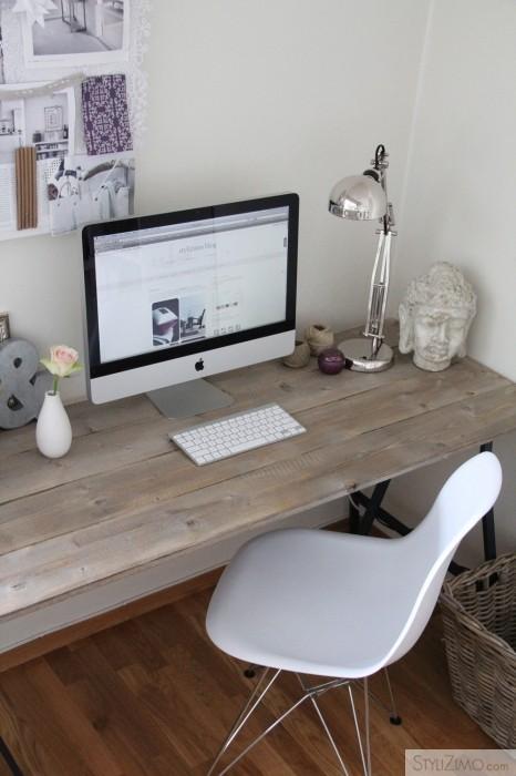 un bureau la d co douce et f minine decocrush. Black Bedroom Furniture Sets. Home Design Ideas