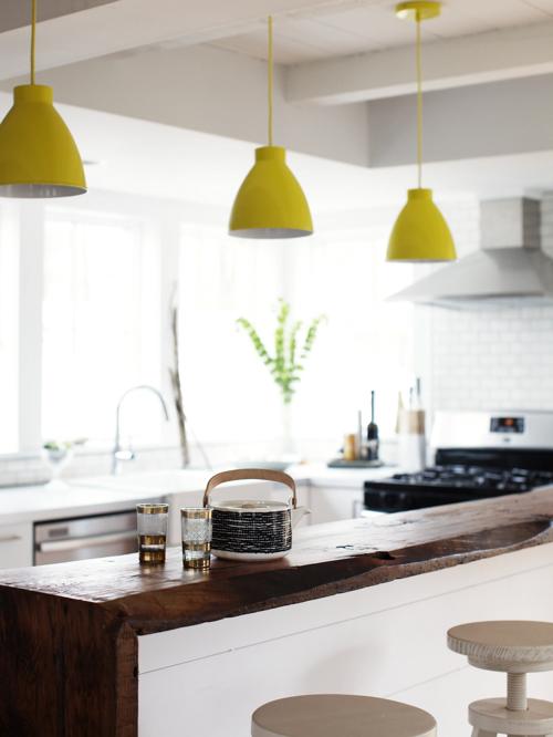 Diy de jolies lampes industrielles color es decocrush - Abat jour cosy ...