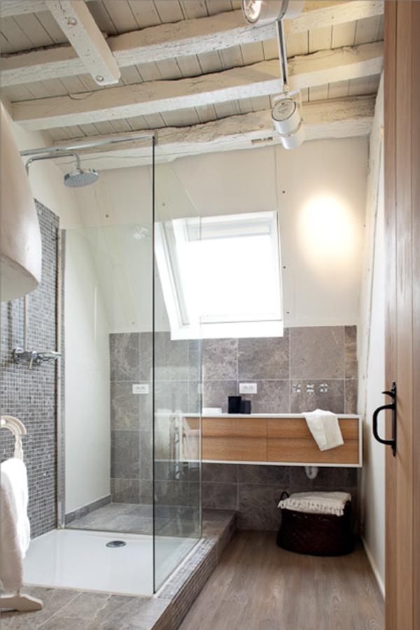 Renovation maison : Une decoration ethnic chic très douce à Anvers
