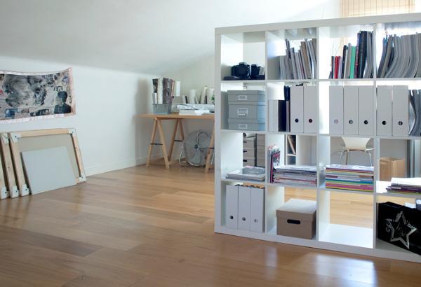 l 39 atelier bureau tout blanc d 39 audrey photographe. Black Bedroom Furniture Sets. Home Design Ideas