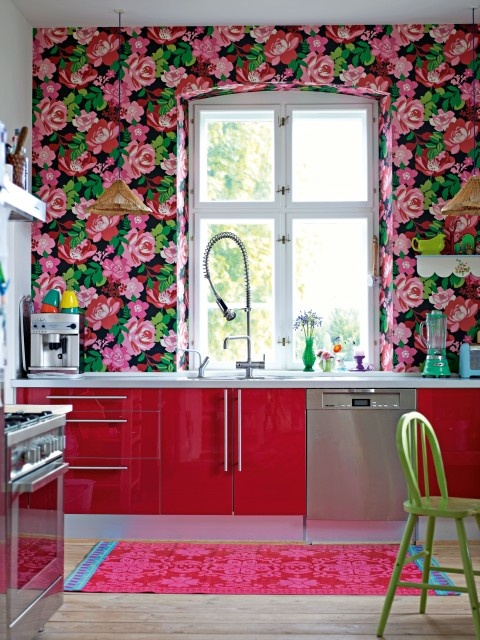Decorate by Holly Becker and Joanna Copestick - eclectic - kitchen - Becky Harris