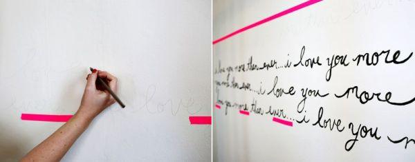 { DIY } Décoration murale pour petite chambre... | www.decocrush.fr
