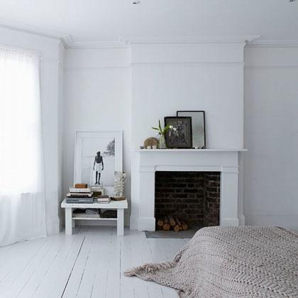 { Pour ou Contre } Une cheminée dans la chambre...? | www.decocrush.fr