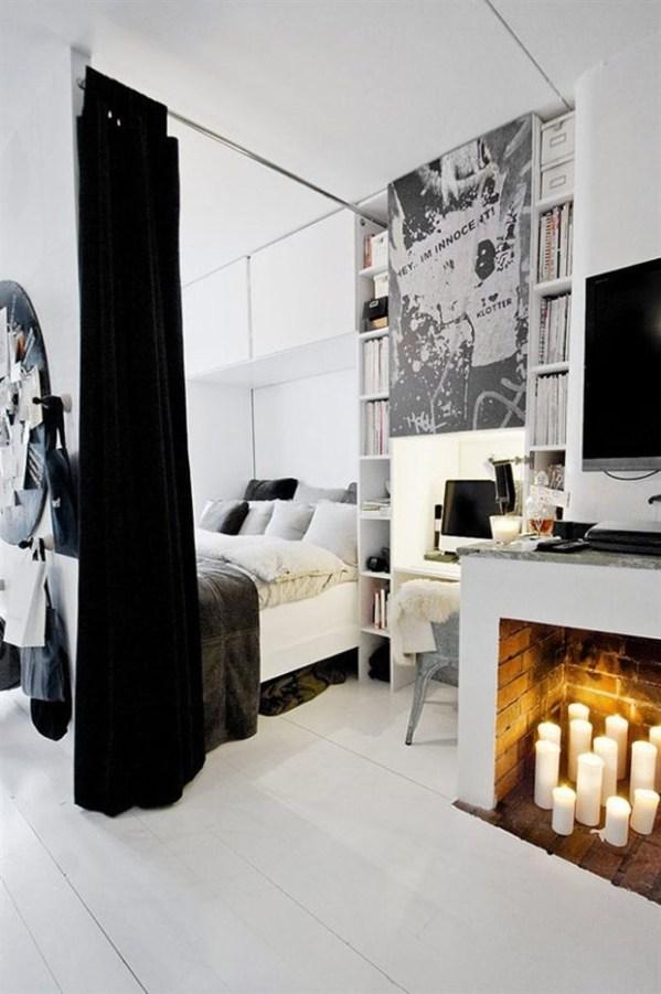 { Pour ou Contre } Une cheminée dans la chambre...?   www.decocrush.fr