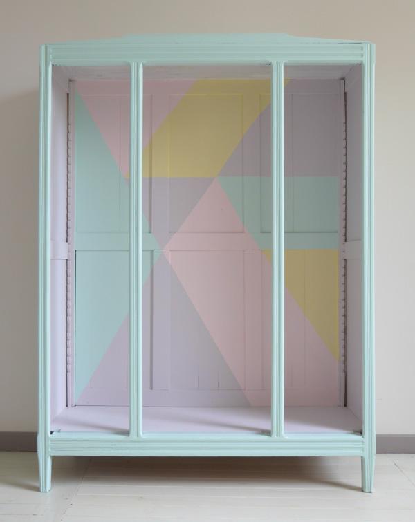 DIY   Une armoire vintage métamorphosée...   www.decocrush.fr