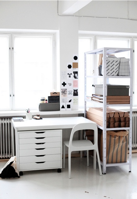 5 astuces d co pour un bureau fonctionnel petits prix. Black Bedroom Furniture Sets. Home Design Ideas