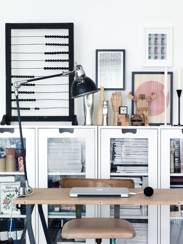 5 astuces d co pour un bureau fonctionnel petits prix decocrush. Black Bedroom Furniture Sets. Home Design Ideas