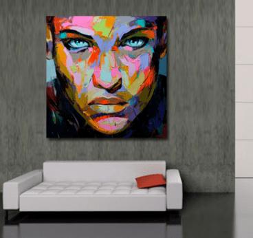 { Today I ♥ }  Les toiles arty à petits prix de Artwall & Co