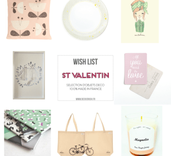Shopping : Ma wishlist 100% Made in France pour la St Valentin…