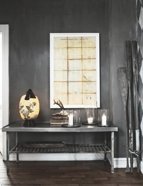 Visite déco | Une belle maison scandinave en noir et blanc