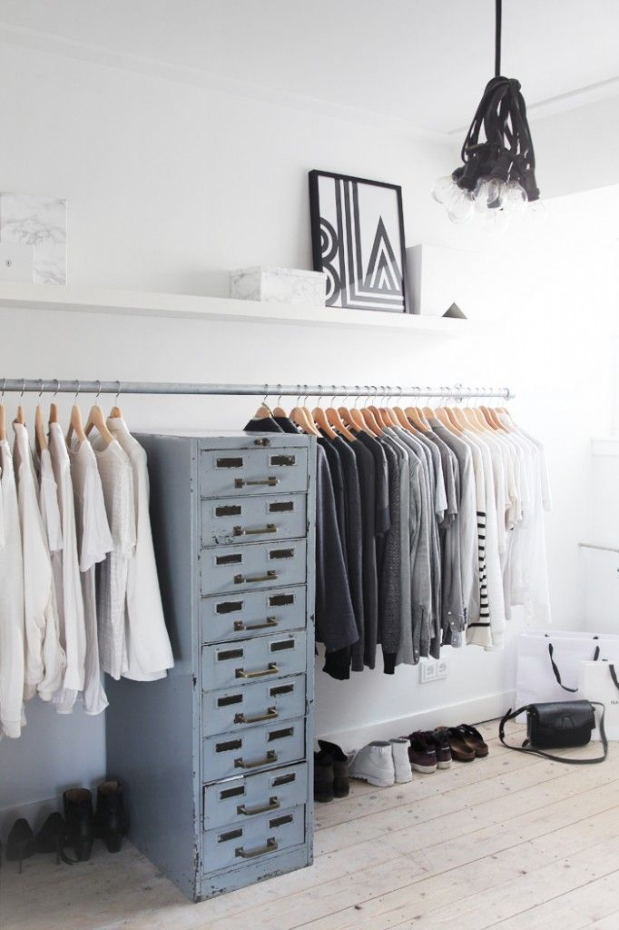 astuces d co comment ranger et organiser ses v tements decocrush. Black Bedroom Furniture Sets. Home Design Ideas
