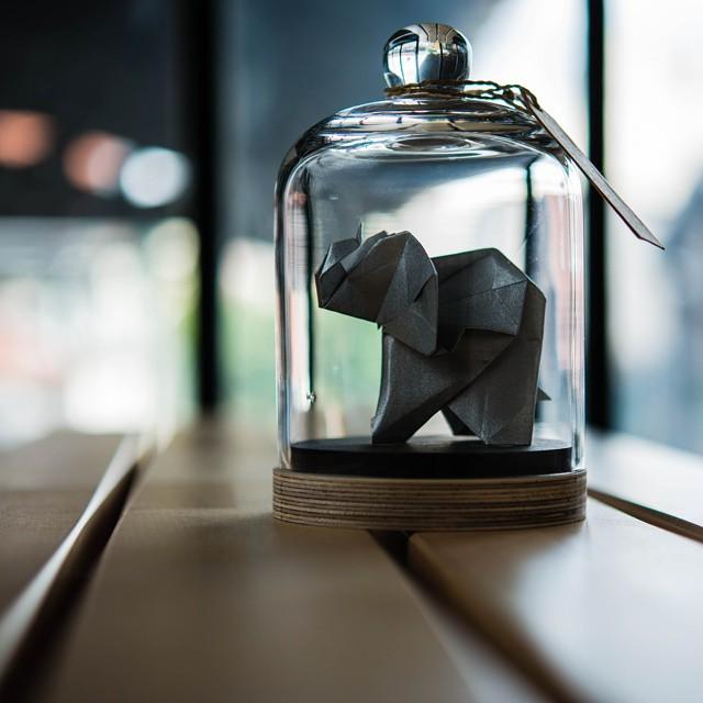 Crush ! Les animaux en origami façon cabinet de curiosité sur www.decocrush.fr / @decocrush