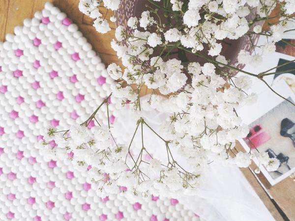 Crush ! Les tapis en laine feutrée de Tapis De Boules