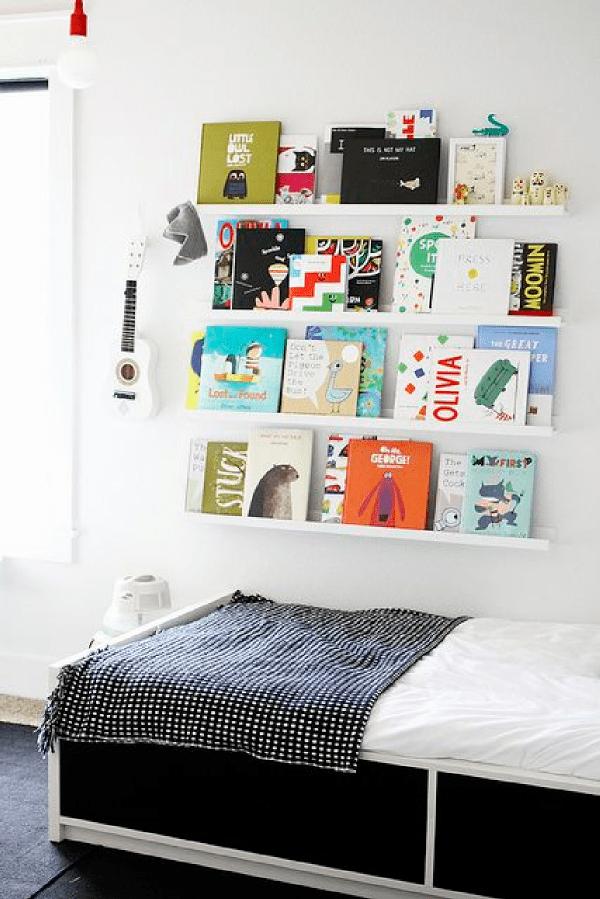 5 id es originales pour ranger ses livres et magazines decocrush webzine d co. Black Bedroom Furniture Sets. Home Design Ideas