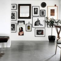Visite déco | Une jolie maison indigo en Suède