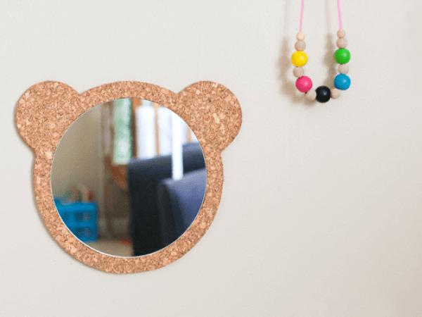 DIY : Un miroir ourson pour les kids