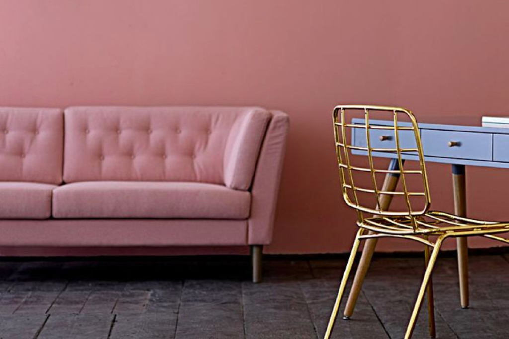 #crushoftheday : canapé rose Bloomingville