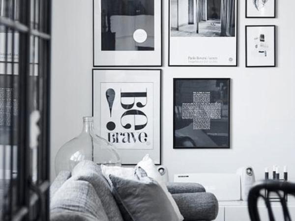 6 astuces pour réussir sa déco en noir et blanc