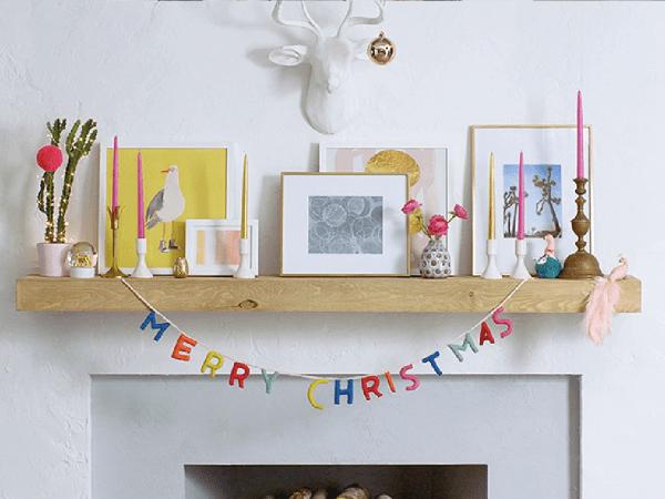 Noël : Comment décorer sa cheminée…quand on en a pas ?