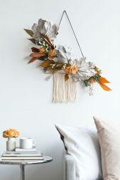 DIY : 12 couronnes de Noël modernes et minimalistes à fabriquer soi-même chez Design Love Fest