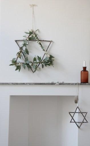 DIY : 12 couronnes de Noël modernes et minimalistes à fabriquer soi-même chez Avenue