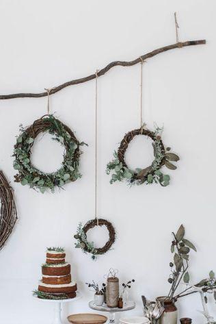 DIY : 12 couronnes de Noël modernes et minimalistes à fabriquer soi-même chez Local Milk