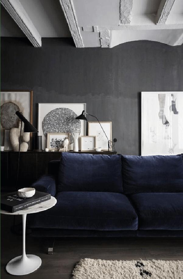 Crush : les murs sombres pour des ambiances racées et pleines  de charme