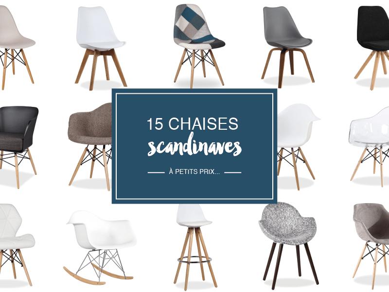 O trouver des chaises scandinaves petit prix decocrush for Ou acheter des chaises eames