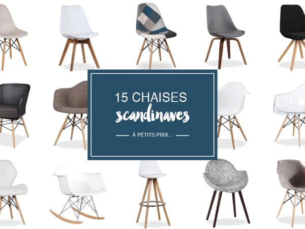Où trouver des chaises scandinaves à petit prix ?