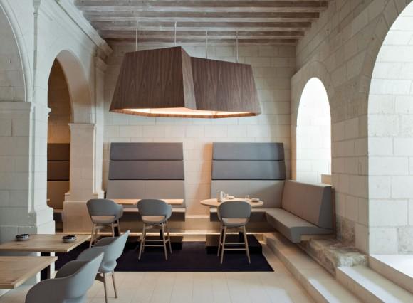 Travelcrush : L'hôtel de l'Abbaye Royale Fontevraud sur @decocrush - www.decocrush.fr
