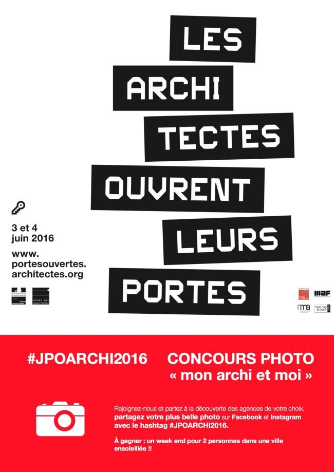 JPOARCHI2016, concours photo grand public !