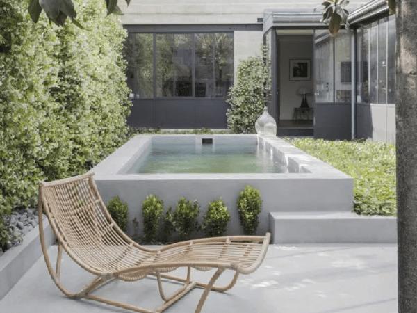 Une maison minimaliste, ethnique et chic à Bordeaux