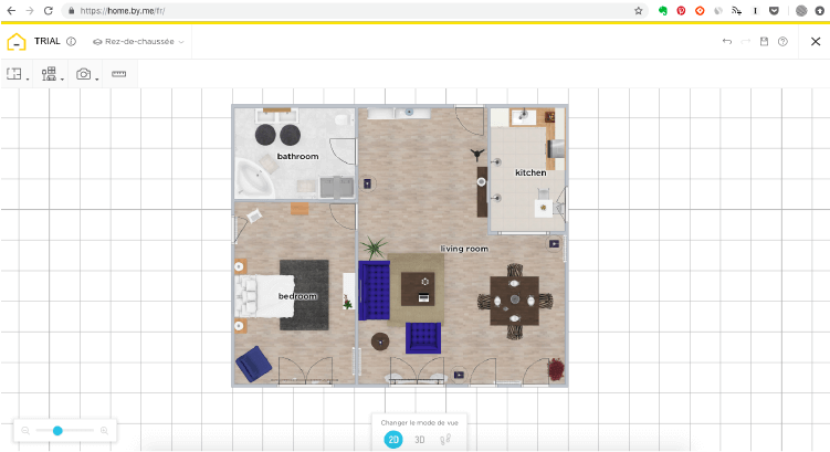 HomeByMe, l'outil gratuit pour créer ses plans et rendus 3D à découvrir sur @decocrush - www.decocrush.fr