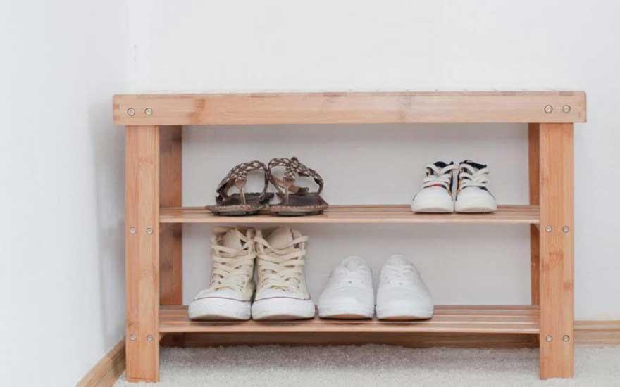 fabriquer un meuble a chaussures soi