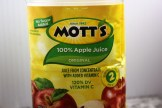 I used Mott's apple juice with added Vitamin C