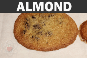 Almond flour, baked