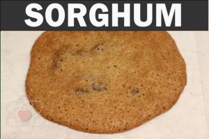 Sorghum flour, baked