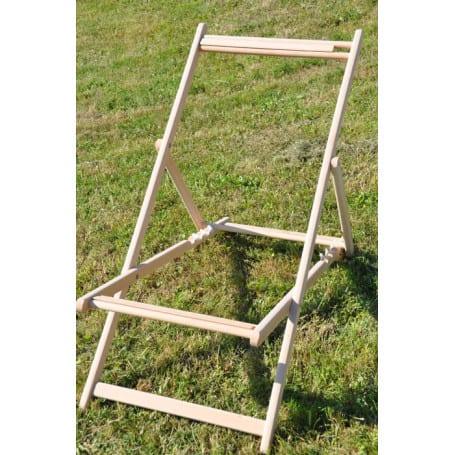 chassis de chaise longue sans la toile
