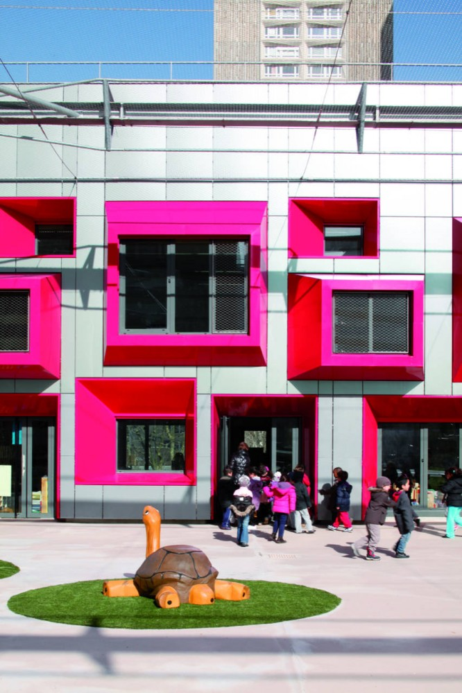 Ecole Maternelle Javelot Paris - France-2012 (Eva Samuel Architecte et Associes)