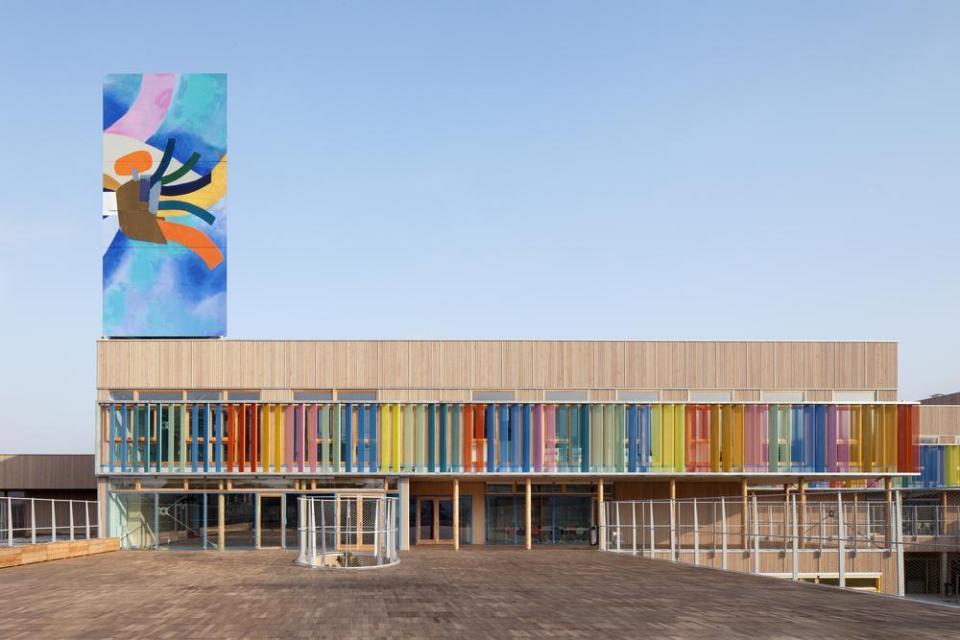 Groupe Scolaire Pasteur Limeil-Brevannes France 2013 (r2k architectes)
