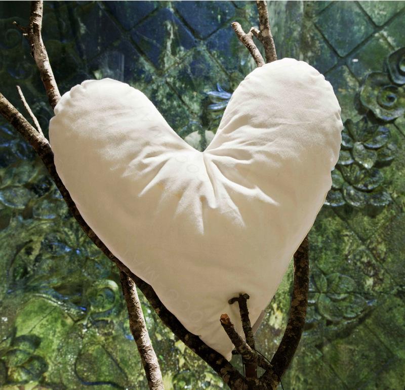 Cocomat heart pillow