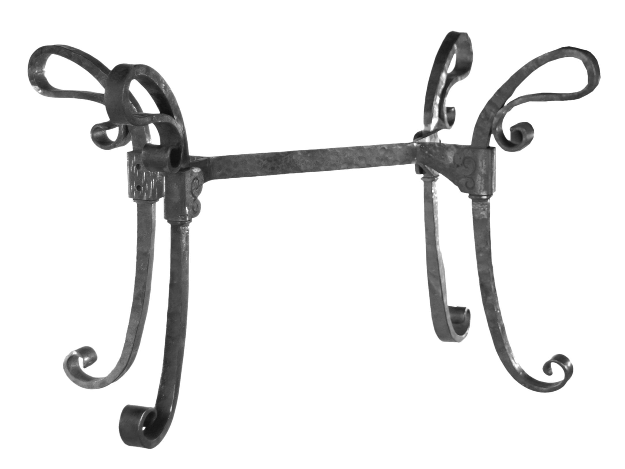 table en fer forge en kit a fabriquer 4 pieds