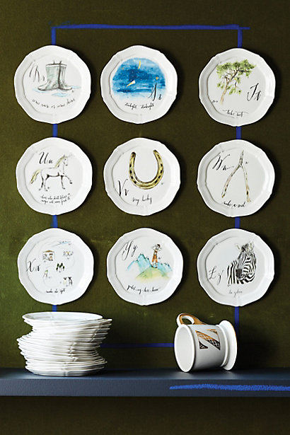 Inspiration 2 27 decogirl montreal for Calligrapher canape plate anthropologie