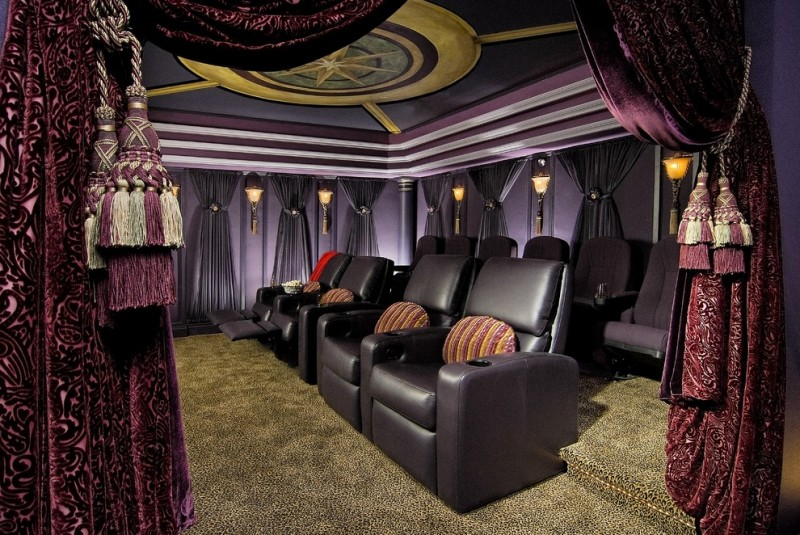 Purple Velvet Curtains Ideas To Every Parts Of A House