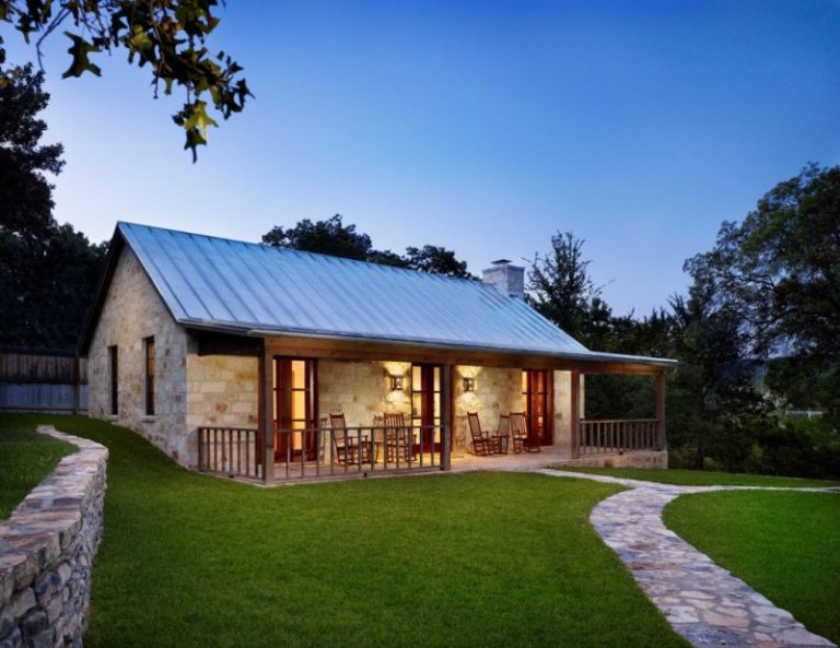 Plans Country House Texas