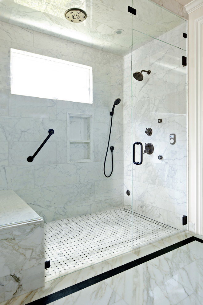 Fabulous Carrera Marble Bathrooms To Be Awestruck By Decohoms