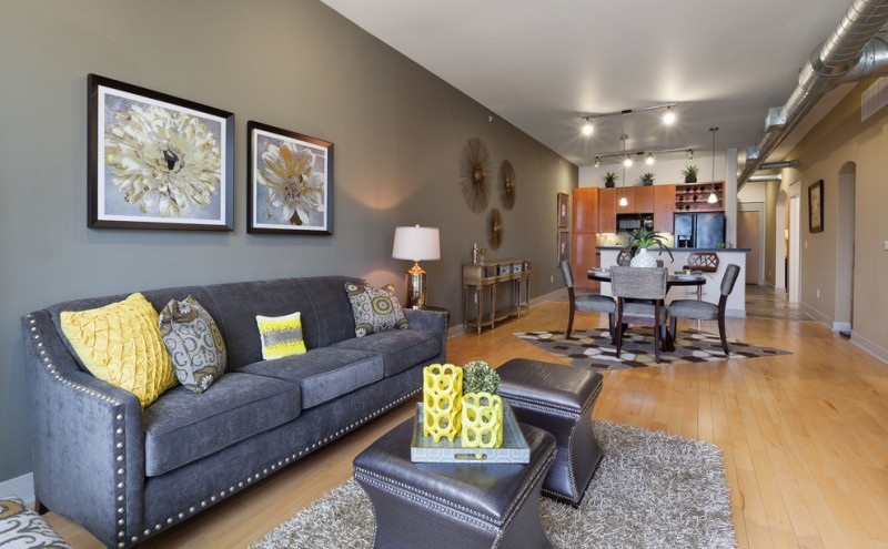 Dark Gray Couch Ideas For Appealing Living Room Decohoms
