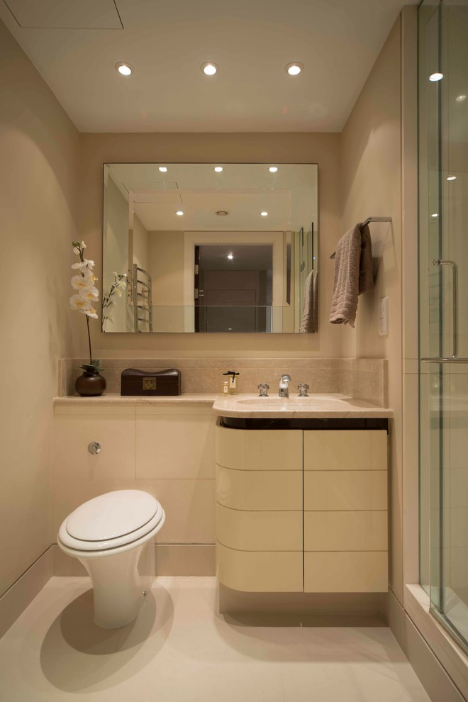 What Simple Yet Beautiful You Can Do To Your Small Bathroom Decohoms
